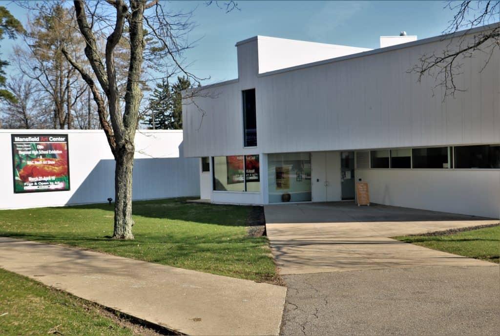 The Mansfield Art Center.