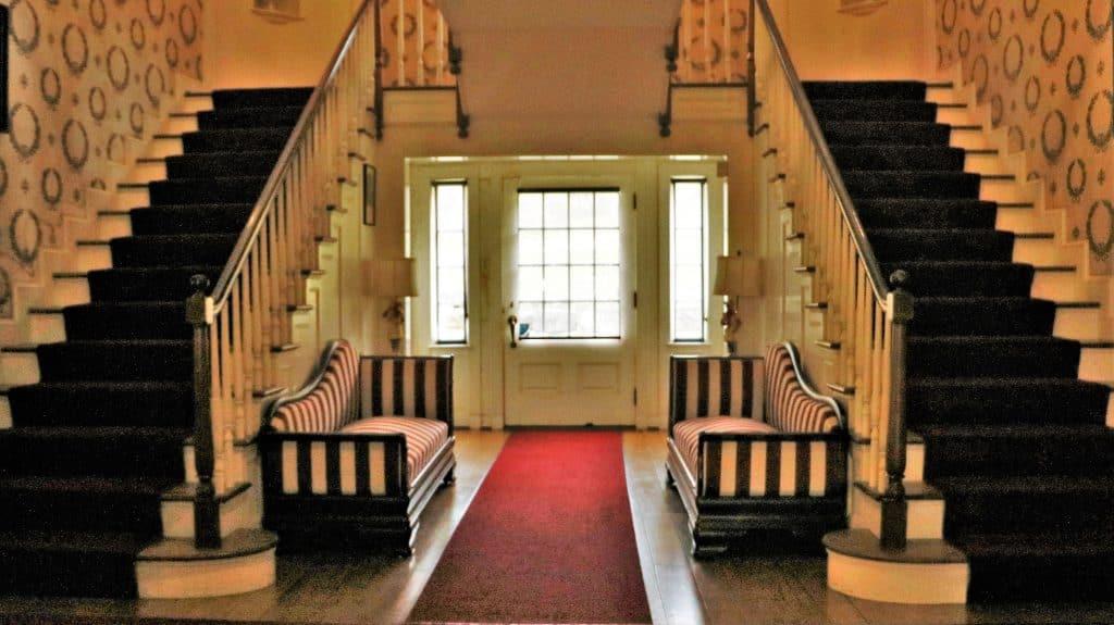 Staircase at Malabar Farm