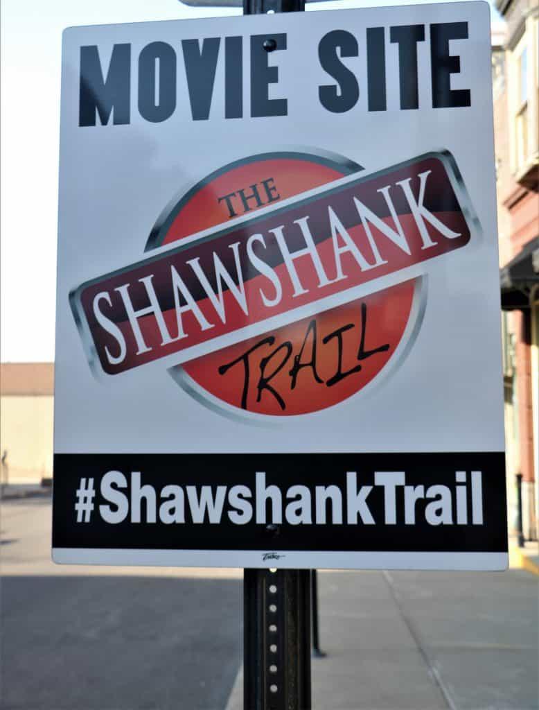 Stop on the Shawshank Trail.