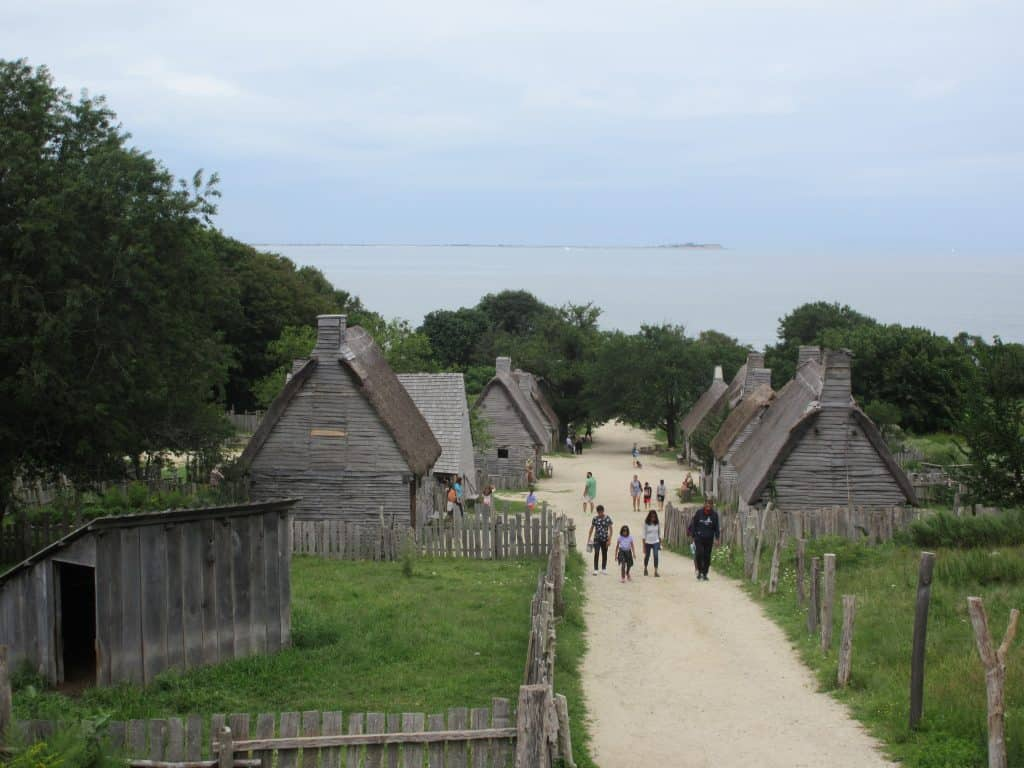 Plimoth Patuxet English Village